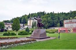 Krynica-Zdrój Atrakcja Pomnik Pomnik Jana Kiepury