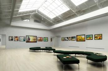 Krynica-Zdrój Atrakcja Galeria Galeria Pod Kasztanem