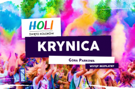Krynica-Zdrój Wydarzenie Festiwal Holi Święto Kolorów na Górze Parkowej