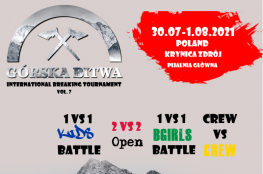 Krynica-Zdrój Wydarzenie Taniec Górska Bitwa - International Breaking Tournament
