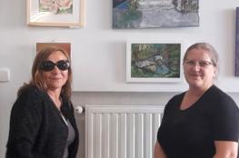 Muszyna Wydarzenie Wystawa Wystawa prac Agaty Kuś i Grażyny Turek